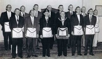 Masons, Connersville, Ind. 1960's