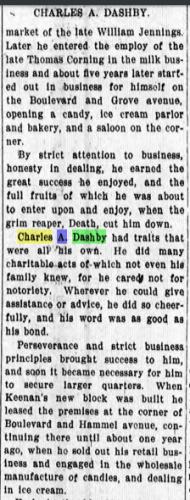 Charles A Dashby Obituary pt 2