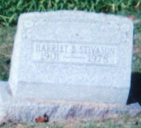 Harriet B. Stivason Gravesite