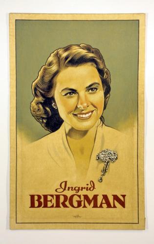 A photo of Ingrid Bergman