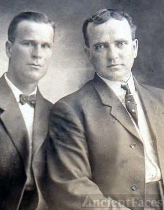 John Spackman & missionary companion