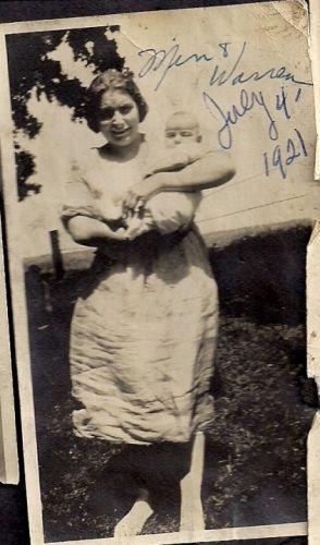 Minnie Maude (Magee/McGee) Hendricks, 1921