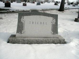 William Franklin Triebel gravesite