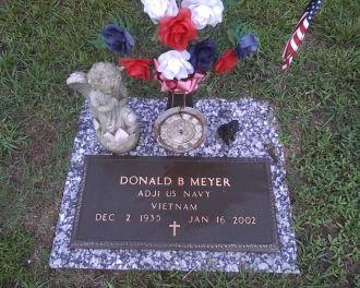 Donald B Meyer gravesite