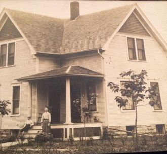 Unknown family home
