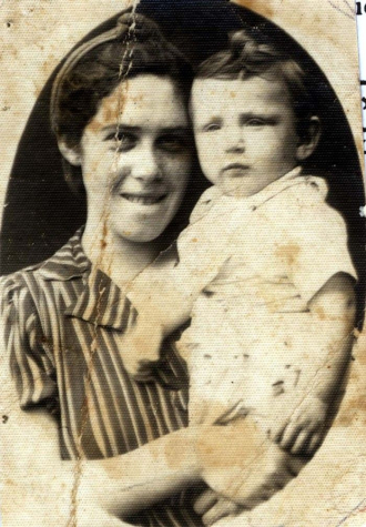 Moshe & his mother