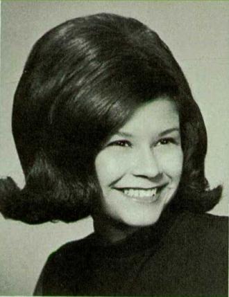 Margie Ortiz 1968 Yearbook Photo