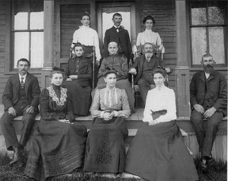 William and Wilhelmine Kappen Family, 1903