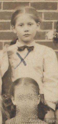 Jean Harrah, young school girl