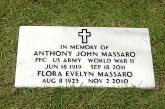 Flora & Anthony Massaro gravesite