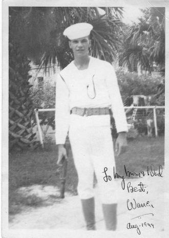 Rudolph Warren Noeldechen, Guard Duty
