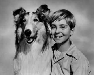 Tommy Rettig & Lassie