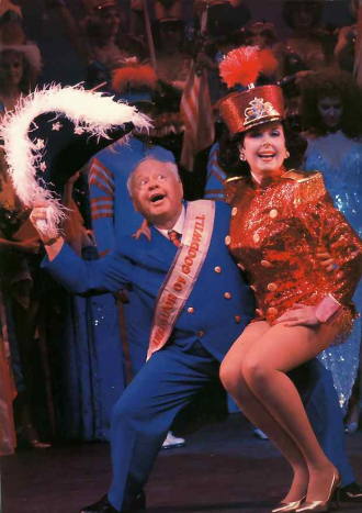 Mickey Rooney and Ann Miller