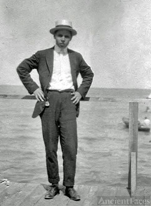 George Lawrence Benning, Tiajuana, Mexico 1917