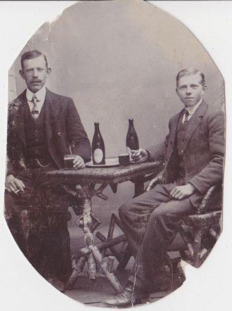 Gustav och Hilmer Berntsson