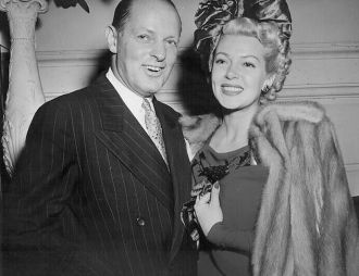 Silas Seadler and Lana Turner