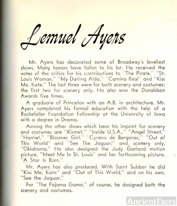 Lemuel Ayers bio