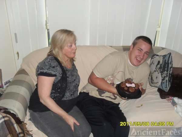 Kristan and Jason Savill - mothers day