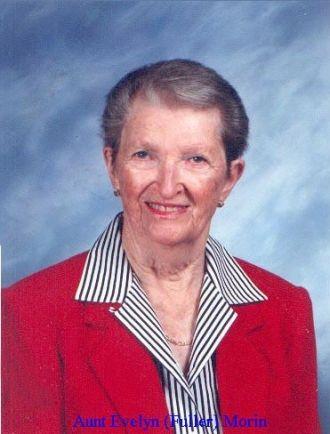 Aunt Ev (Evelyn (Fuller) Morin