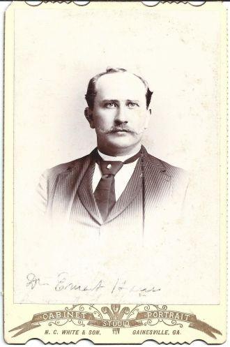 A photo of Ernest Hamm