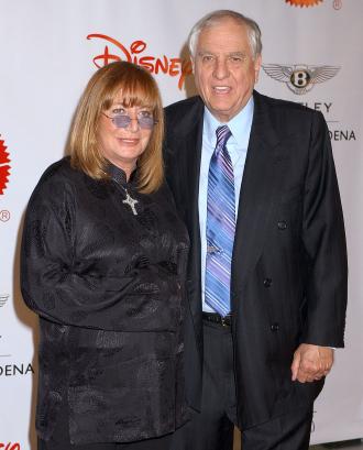 Garry Marshall and sister Penny Marshall