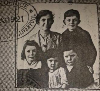 Sarah Mary (Toner) Henderson Family