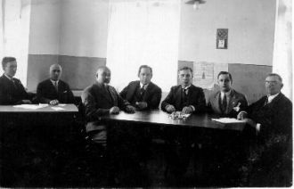 Krisius Wagner and staff