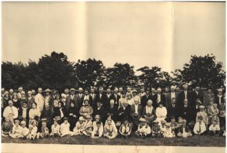 Stavanger Boarding School First Homecoming Picnic June 16, 1928 Imagine 4
