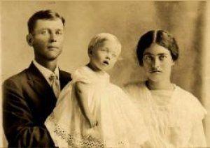 My grandma Chlo and parents