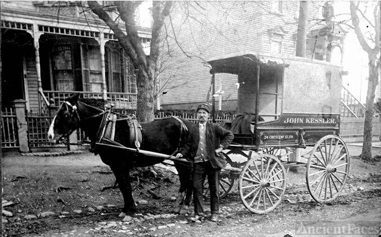 August Zemidat, 1900 NY