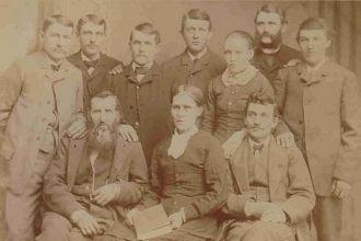 John K McGinnis and Mary H Simmons Family