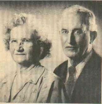Lelia pearl and George Malcom