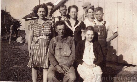James Garfield & Martha Alice Delong & Children