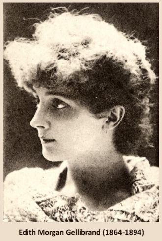 A photo of Edith Morgan Gellibrand