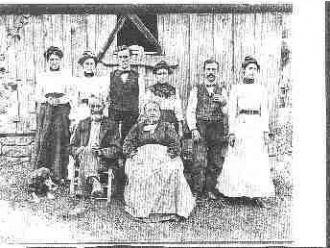John Nelson Vincent Family, 1900
