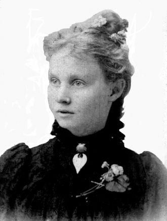Mattie Daisy Fletcher Hinson, 1895