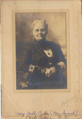 A photo of Mary Webb Currie