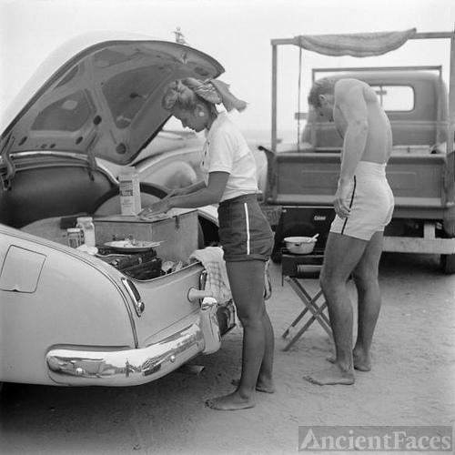 California Beach Couple