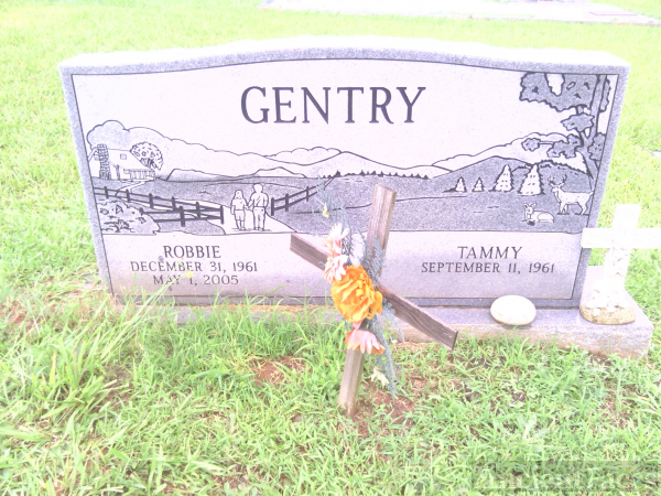 Robbie B Gentry gravesite