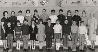 Garrison School class 1967-68, gr4/5, named