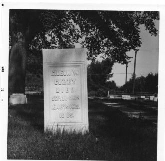 Gideon Colby tombstone