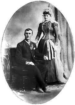 Mathias & Julia (Kirscht) Reichert, Minnesota 1889