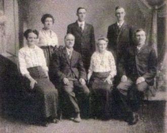 Oscar Burton Moore family