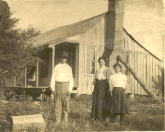 Grandma Mary, Uncle Maxwell & Aunt Ruth Hurst