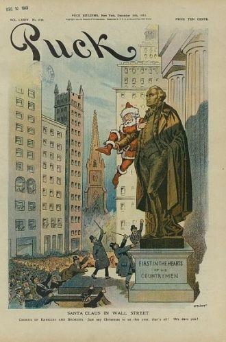 Samuel Erhart Drawing, Santa Claus, 1913