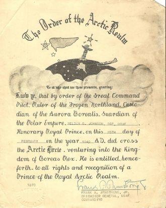 Weldon G. Johnson document