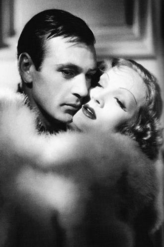 Marlene Dietrich and Gary Cooper