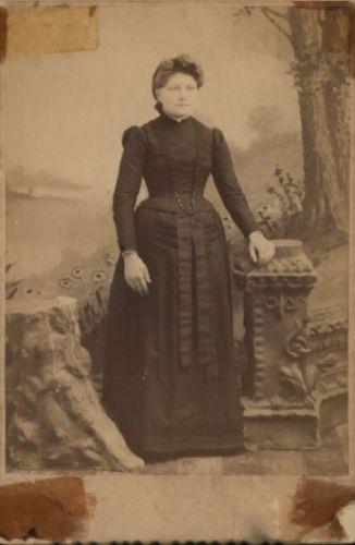 Sara Ellen (Barber) Norris, Ohio 1893