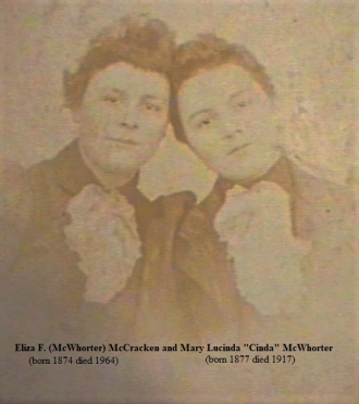 Eliza F. and Lucinda McWhorter