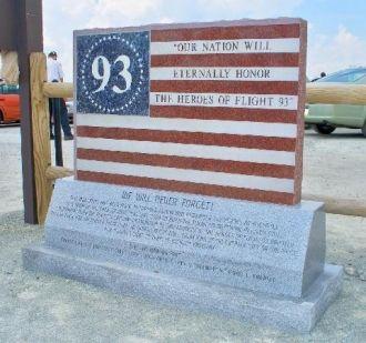 Flight 93 Memorial to victims of 9/11